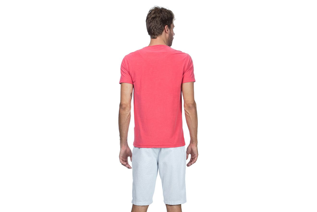 Camiseta-Decote-Careca-Basica---Melancia