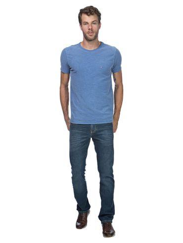 Camiseta-Decote-Careca-Basica---Azul-Jeans