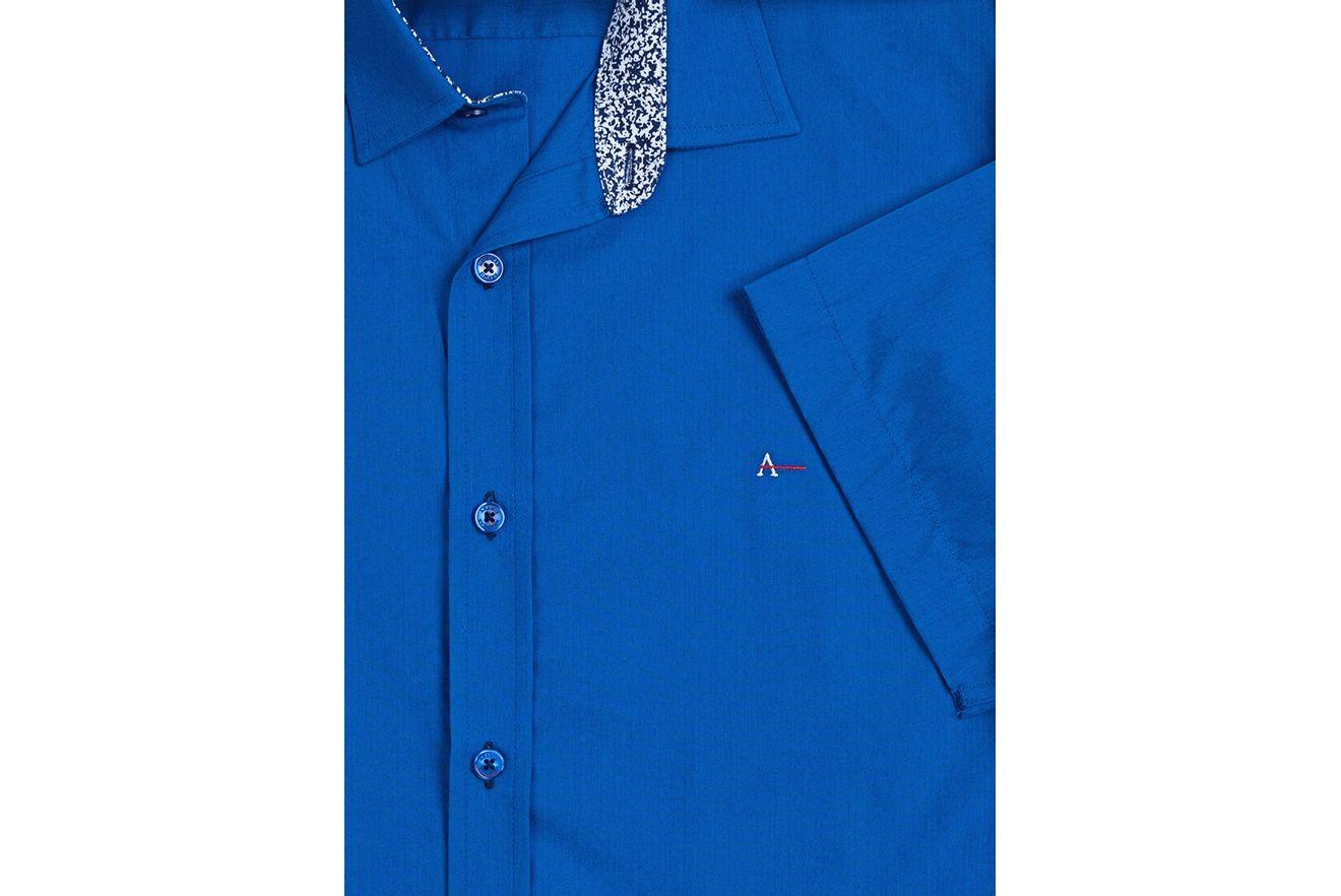 Camisa-Slim-Menswear-Barra-Redonda-Compose---Azul-Bic