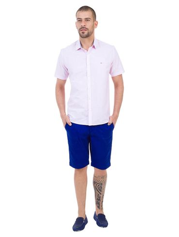 Camisa-Slim-Menswear-Barra-Redonda-Prega-Costas---Rosa