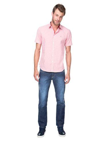 Camisa-Menswear-Slim-Filete-Interno---Vermelho