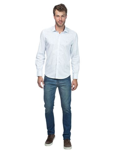 Camisa-Menswear-Azulejo-Manchado---Azul-Claro