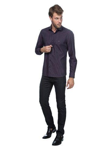 Camisa-Menswear-Slim-Vivo-Pe-de-Gola---Preto