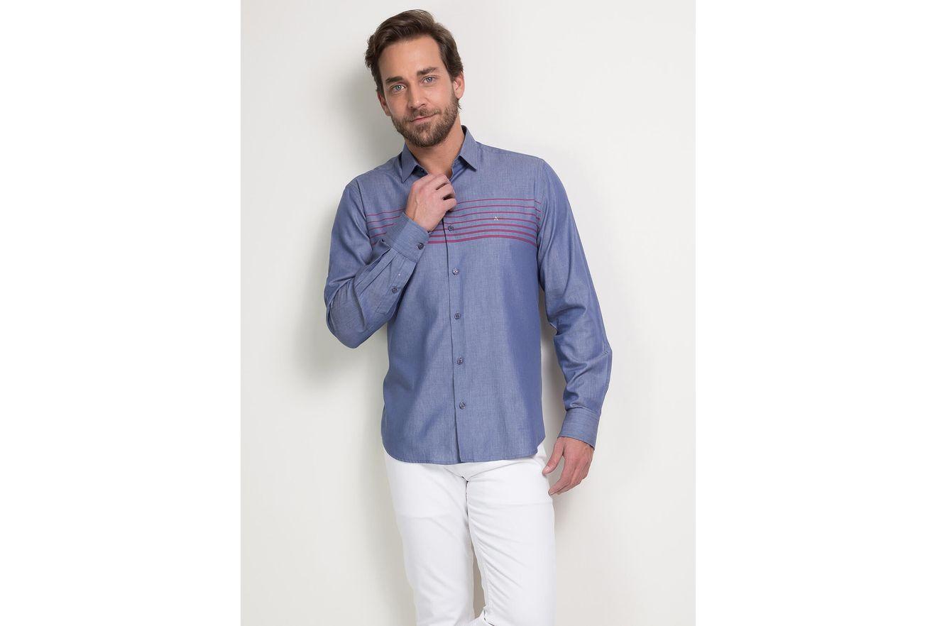 Camisa-Menswear-Slim-Rapport-List-Frent01_fr