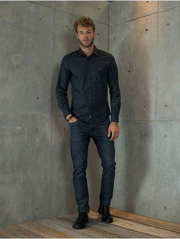 Camisa-Slim-Night-Vivo-Pe-de-Gola-Pontilhismo---Preto7891236212731_01_mobile_fr