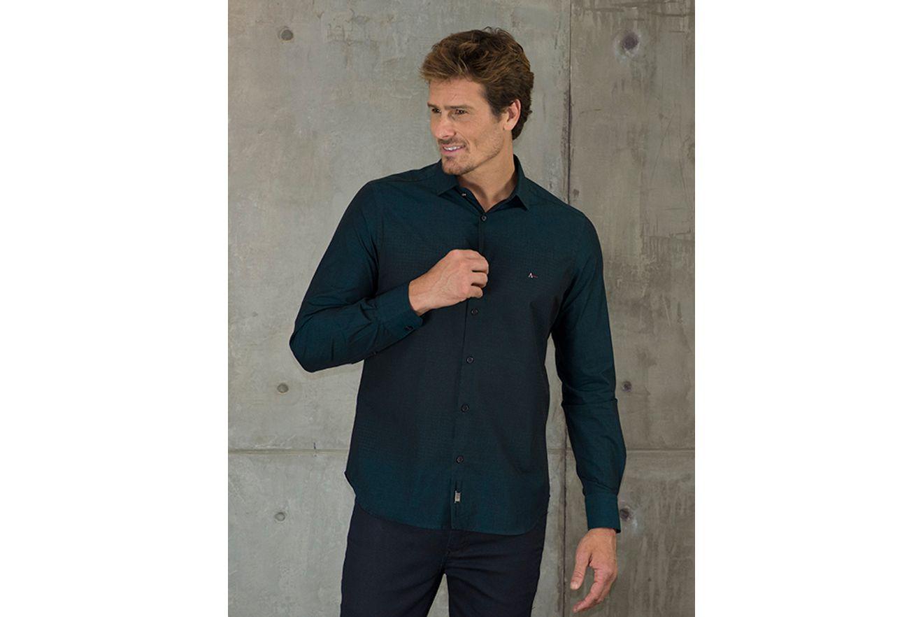 Camisa-Slim-Night-Estampa-Pied-Poule---Verde-Escuro7891236222723_01_mobile_fr