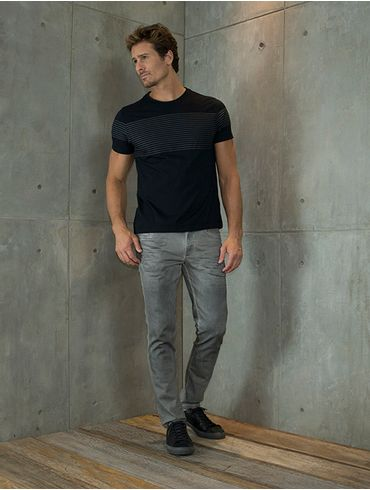 Camiseta-Silk-Gel-Listras---Preto