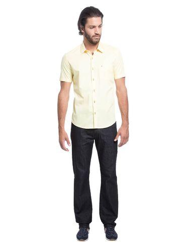 Camisa-Menswear-Barra-Redonda-Compose---Amarelo