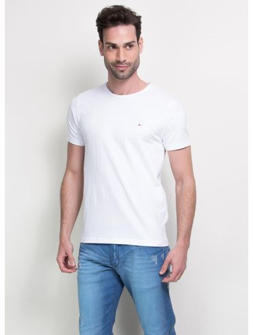 Camiseta-Basica-Careca-Cotton-Bordado---Branco