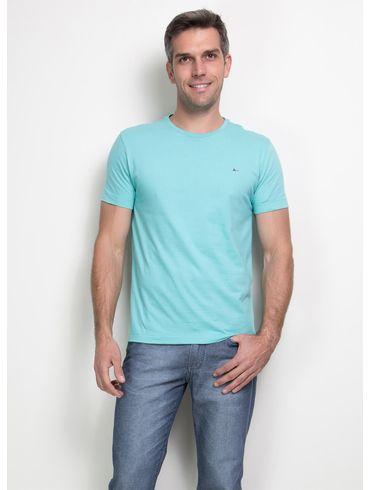 Camiseta-Listras-Careca-Basica---Azul-Piscina