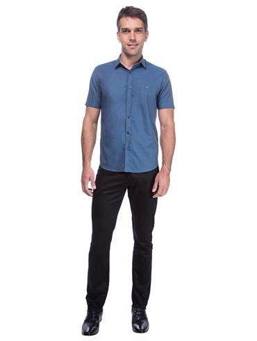 Camisa-Slim-Menswear-Barra-Redonda-Prega-Costas---Petroleo