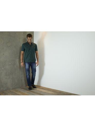 Camisa-Menswear-Barra-Redonda-Compose---Verde-Escuro