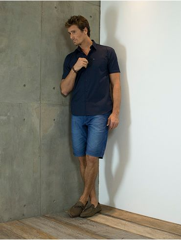 Camisa-Menswear-Barra-Redonda-Compose---Marinho