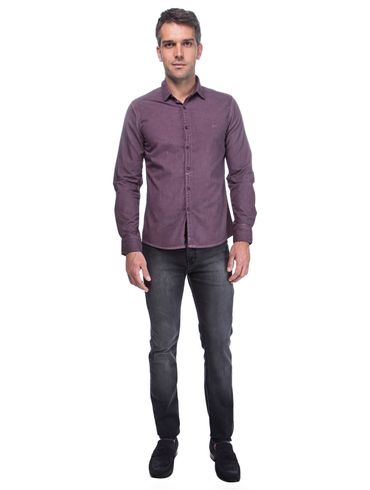Camisa-Super-Slim-Jeanswear-Spray-Dyed---Vinho01_fr