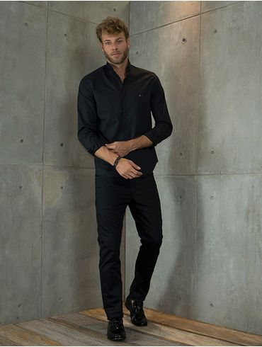 Camisa-Slim-Night-Gola-Padre---Preto7891236220422_01_mobile_fr