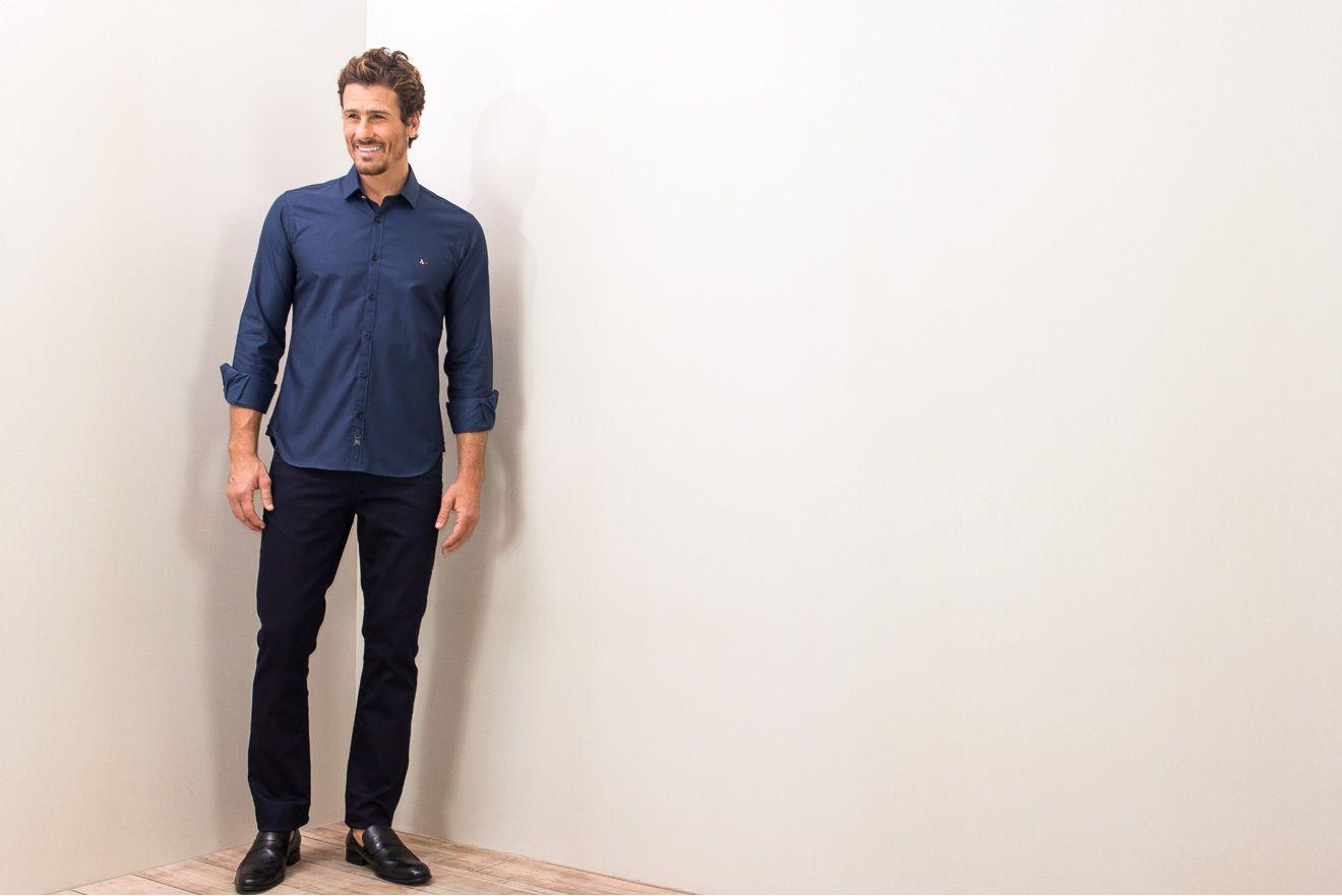 Camisa-Super-Slim-Night-Compose-Barra