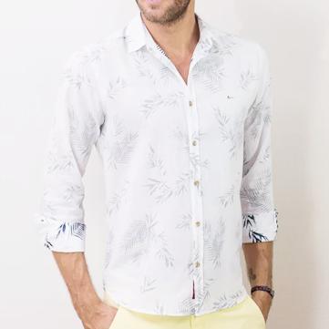 camisa-jeanswear-slim-folhagem-aquarela-branco-com-marinho
