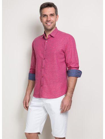 1434 Camisa-Jeanswear-Slim-Zig-Zag-Continuo-Floral01 fr ... 085cde1e42deb