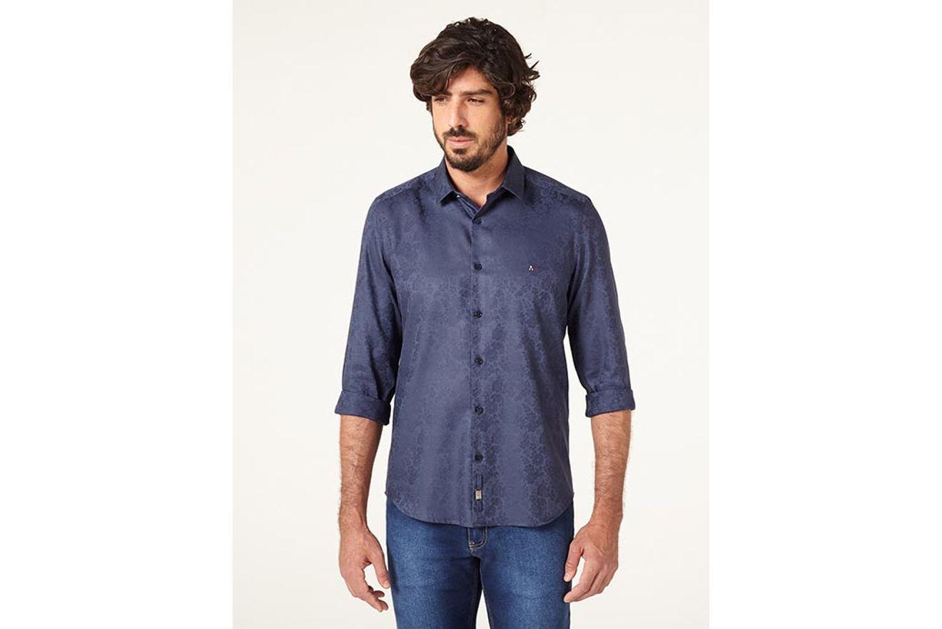184d4dee078 ... Camisa-Night-Super-Slim-Floral-Fio-60 xml ...