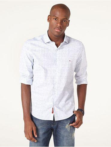 cddb3a839cb49 Azul em Camisa - Manga Longa – aramismenswear