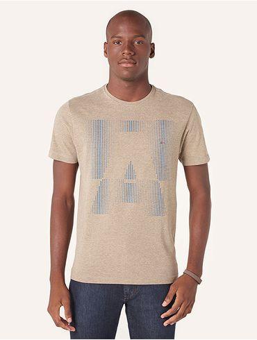 Camiseta a Pontilhado
